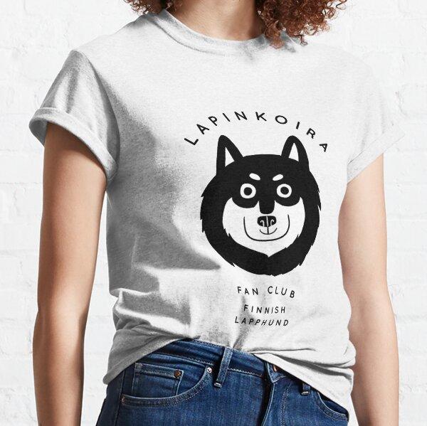 Lapinkoira / Finnish Lapphund Fan Club  Classic T-Shirt