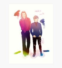 larry stylinson Art Print
