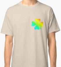 four-leaved clover-rainbow-1 Classic T-Shirt