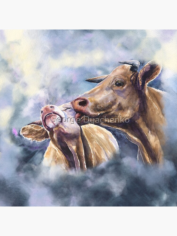 Cows love. Cow Romance from George Dyachenko by GeorgeArtD