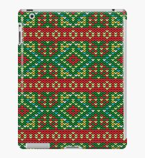 Knitted Christmas ornament iPad Case/Skin