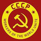 Communist Badge & Motto by Chocodole