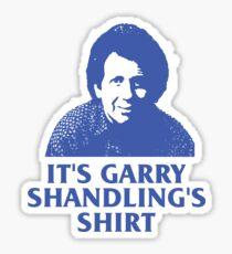 It's Garry Shandling's Shirt Sticker