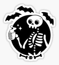 Tod vor Decaf Sticker