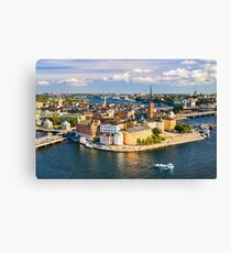 Gamla Stan in Stockholm Canvas Print