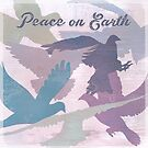 Peace on earth (doves) by Sybille Sterk