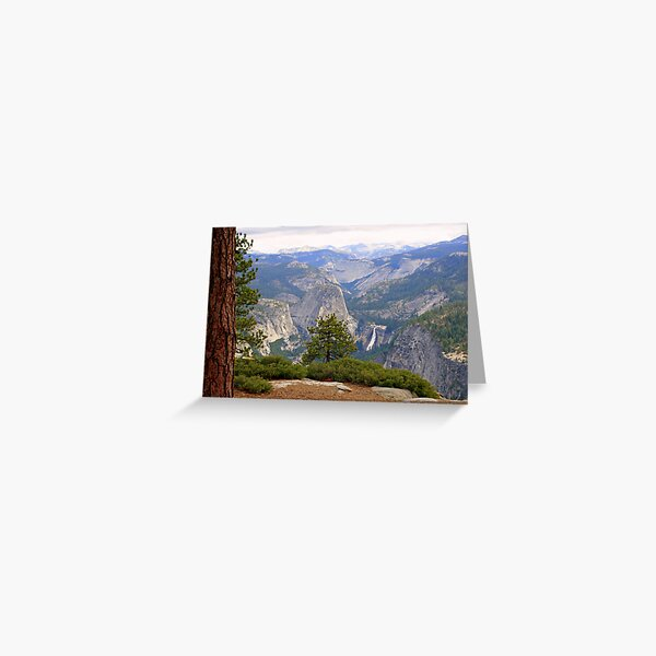"""""""Upper Merced River Canyon"""" Greeting Card"""