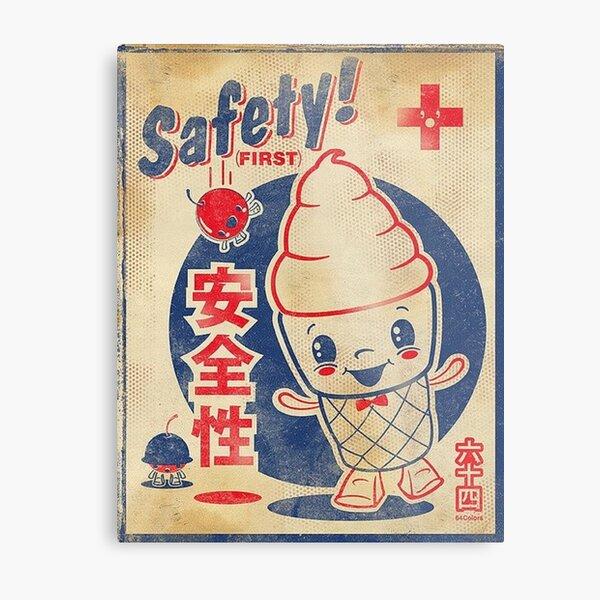 Japanese Ice Cream Metal Print
