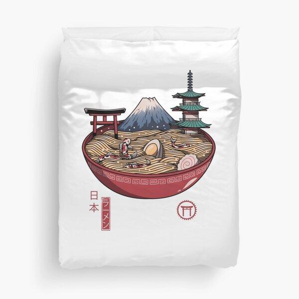A Japanese Ramen Duvet Cover