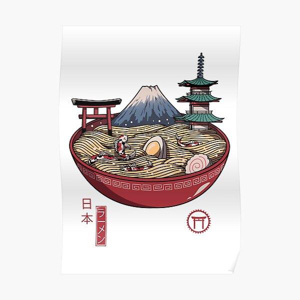 Un ramen japonais Poster