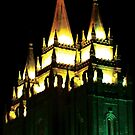 Salt Lake Temple (Modern Art Form) by Jerald Simon - Music Motivation (musicmotivation.com) by jeraldsimon