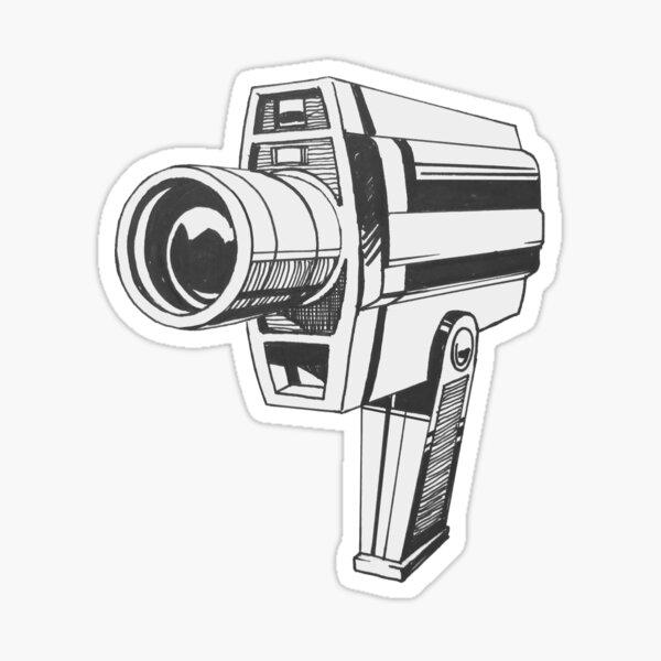 Video Camera Sticker