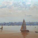 Calm Waters At Sorento, Victoria by Mick Kupresanin