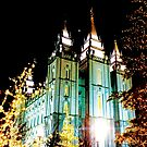 The Salt Lake Temple in December by Jerald Simon - Music Motivation (musicmotivation.com) by jeraldsimon