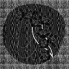 black flower by jukkaUK