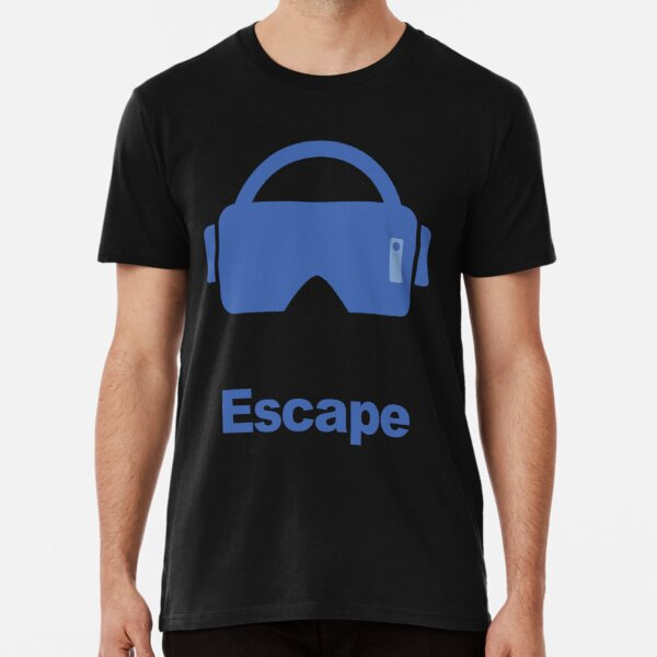 Virtual reality fantasy escape Premium T-Shirt