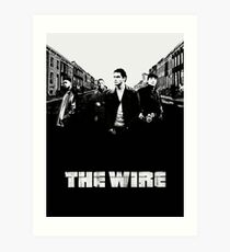 The Wire Art Print
