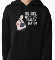 the girl with the dragon tattoo. Pullover Hoodie