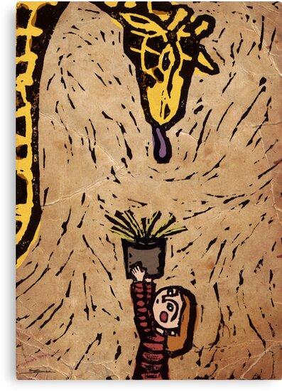 Feeding Giraffes Is Hard by Ine Spee
