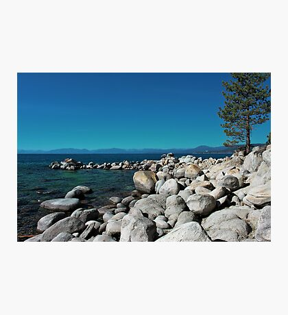 Tahoe Rocks!!  Photographic Print