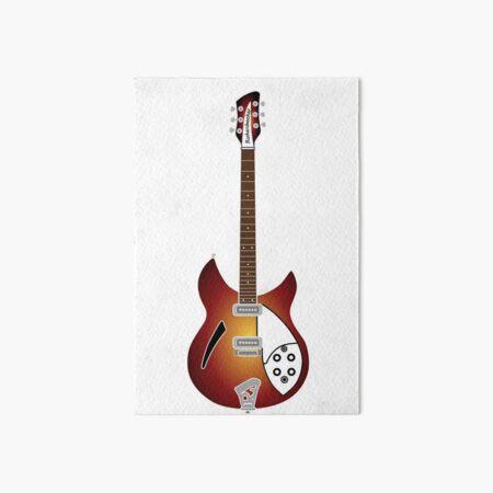 kleine Gitarren Galeriedruck
