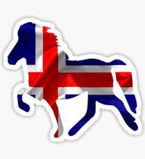 Icelandic Horse: Islandpferd Pferd Pony Merch Sticker