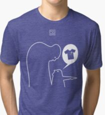 Over There! We've been featured! Tri-blend T-Shirt