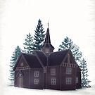 Norwegian Forest House by Sybille Sterk