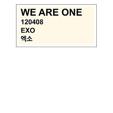 we are one, exo by olliemattie