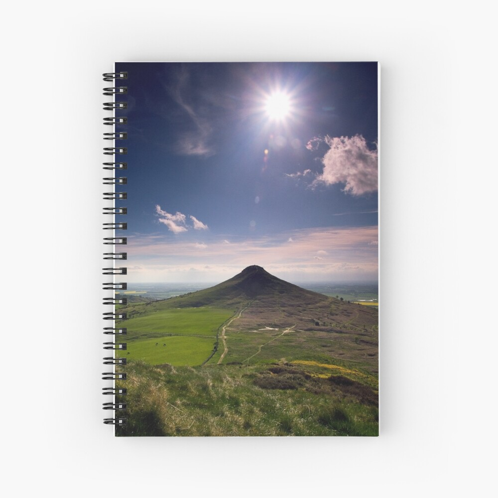 Roseberry Topping Spiral Notebook