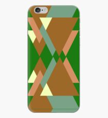 Geometric graphic pattern iPhone Case
