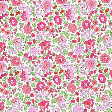 Pretty in Pink Flower Pattern by lucylucy