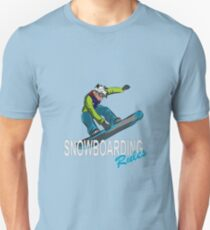 Snowboard Rules Winter Snowboarding Unisex T-Shirt