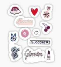 glossier sticker pack Sticker