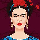 Frida by Alejandro Mogollo Díez