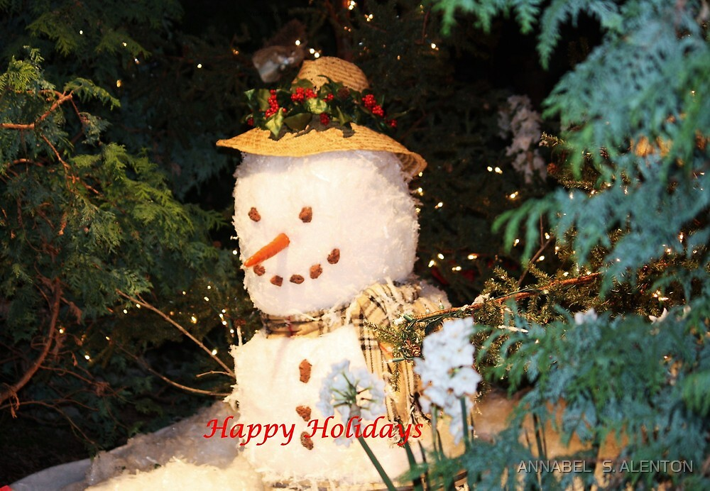 happy holidays by ANNABEL   S. ALENTON