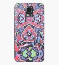Pencil Print Diagonals Fall Into Winter Design Collection by Green Bee Mee Case/Skin for Samsung Galaxy