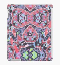 Pencil Print Diagonals Fall Into Winter Design Collection by Green Bee Mee iPad Case/Skin