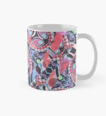 Pencil Print Diagonals Fall Into Winter Design Collection by Green Bee Mee Mug