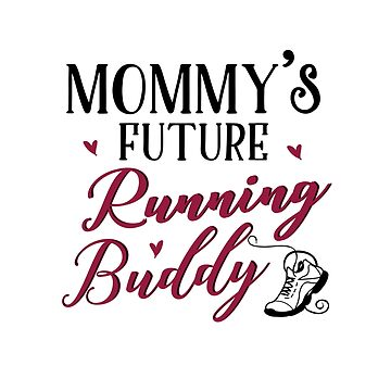 Running Mom and Baby Matching T-shirts Gift by KsuAnn