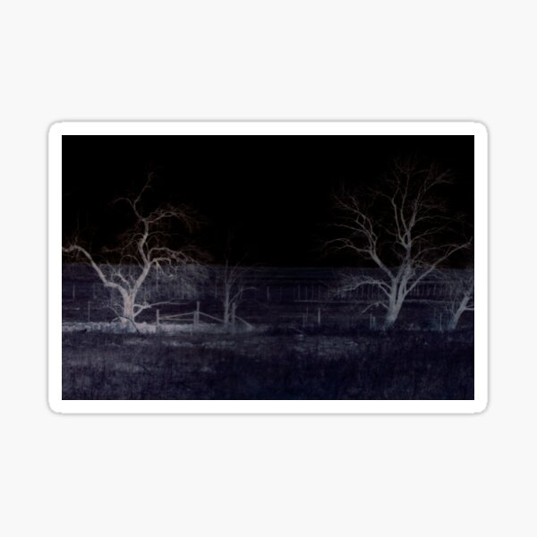 Haunted meadow by Jerald Simon (Music Motivation - musicmotivation.com) Sticker