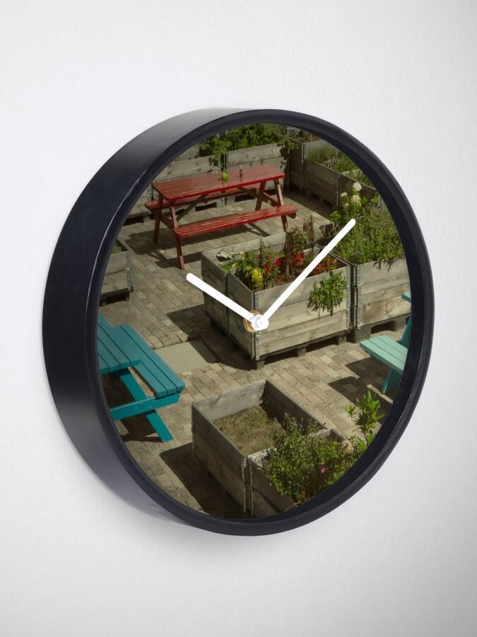 Alternative Ansicht von Bunte Tische Uhr