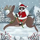 Santa Claws and the Jackalope! by Ryan Conners