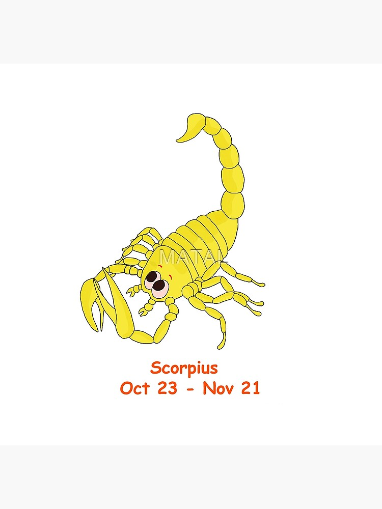 Cartoon Scorpius - Cartoon Scorpio de MATAL