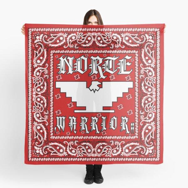 """""""Norte Warrior"""" (Red Bandanna Design) Scarf"""