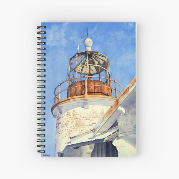 Old Crookhaven Heads Lighthouse, NSW, Australia Spiral Notebook