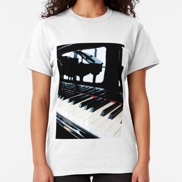 The Grand Piano Within by Jerald Simon (Music Motivation - musicmotivation.com) Classic T-Shirt