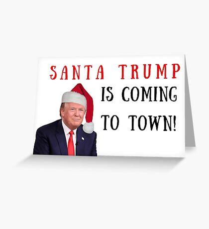 Tarjeta de Navidad de Trump, Tarjeta de Navidad, Felices fiestas, Invitaciones a fiestas, Saludos de Meme, Política, Santa Trump, Novio, Novia, Esposa, Esposo, Hermana, Hermano, Familia, Citas, Regalos, Regalos Tarjeta de felicitación