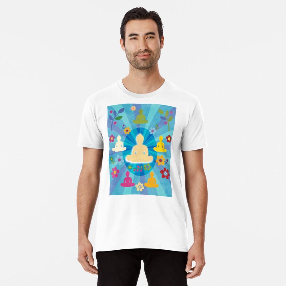 Radiating Buddha and Sangha Premium T-Shirt
