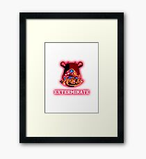 Zelda Exterminate Guardian Framed Print